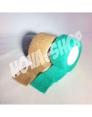Sada 2ks OK-plast - přírodní, zelená (2,5/450)