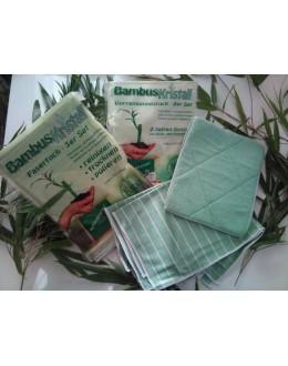 Bambusová utěrka pro úklid - 5-ti set (při odběru od 30ks za 210,-)